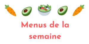 Logo Menus Semaine 1